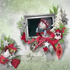 Christmas spirit de Féli designs https://www.digitalscrapbookingstudio.com/feli-designs/