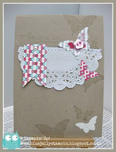 Stampin' Up! Same card - different colours