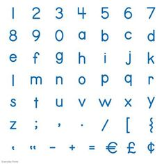 Everyday Fonts