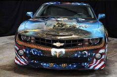 Funny Car Airbrush – America's Story