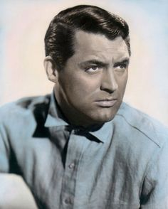 "CARY GRANT TALK of the TOWN 1942 HOLLYWOOD ACTOR 8x10"" HAND COLOR TINTED PHOTO • $14.50 - PicClick"