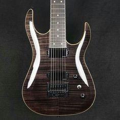 Halo Guitars Morbus Baritone 7, inline headstock, Evertune Bridge and EMG pickups