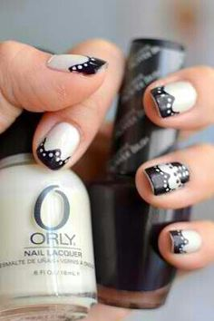 20's gangster nails