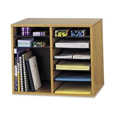 Safco Adjustable 12-Compt. Literature Organizer | Porter's Office Products