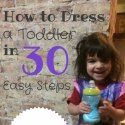Hilarious look at trying to dress your child