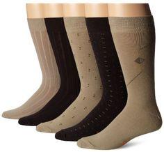 Stocking Ron Dockers Men's 5 Pack Classics Dress Dobby Crew Socks, Khaki Assorted, 10-13 Sock/6-12 Shoe Dockers http://www.amazon.com/dp/B00GJA3YIK/ref=cm_sw_r_pi_dp_1oHCwb1Y19T81