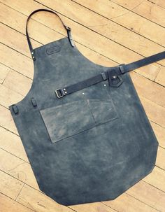 Leather Shop Apron by Niyona
