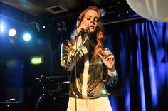 lana del rey #ldr American singer Lana Del Rey performs on stage at Scala on November 16, 2011 in London, United Kingdom.