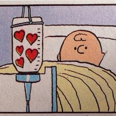 Charlie Brown gets some much needed Love.