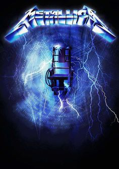 Metallica: Ride the Lightning Metallica Tattoo, Metallica Art, Metallica Albums, Heavy Metal Music, Heavy Metal Bands, Hard Rock, Music Rock, Eren X Mikasa, Ride The Lightning