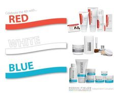 Don't forget July 4th!  https://jcarmichael1.myrandf.biz/  I love Rodan & Fields and would LOVE to share the products and the opportunity with anyone that is interested in learning more.  For any new consultant that joins my team and generates $600 in their first and second months, you will receive a $50 Visa gift card. For anyone interested in purchasing a full regimen, I will waive the fee to become a Preferred Customer!    You must mention you saw this on Pinterest to qualify!