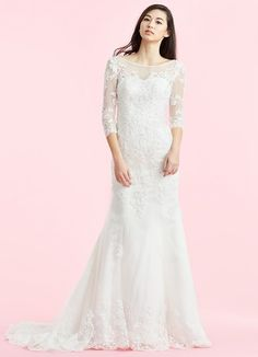 Dress Dorothy Bg By Azazie Is A Simple Tulle Bridal Gown Featuring