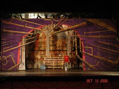 """""""guys and dolls"""" sewer set Stage Set Design, Guys And Dolls, Shots, Costume, Google Search, Painting, Painting Art, Costumes, Paintings"""