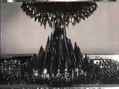 "Sachiko kodama and Minkako Takeno's sculpture ""protrude flow"""