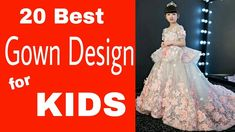 Best Gown for Kids: 20 best gown design for kids| Agatha world