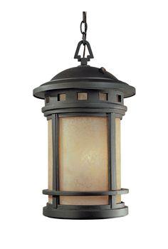"Sedona 11"" Energy Star Hanging Lantern From Designers Fountain - ES2394-AM-ORB"