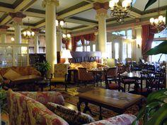 Interior, Empress Hotel...Victoria, Canada