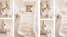 INITIAL BLING FUR STOCKING AND BLING FUR PRESENT DIY MACY'S INSPIRED - YouTube