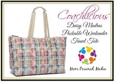 Coach Daisy Madras Packable Weekender Tote Giveaway