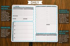Amazon.com : Panda Planner - Best Daily Calendar and Gratitude Journal to Increase Productivity, Time Management & Happiness - Hardcover, Non Dated Day - 1 Year Guarantee : Office Products
