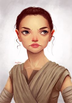 fanart of the awesome rey
