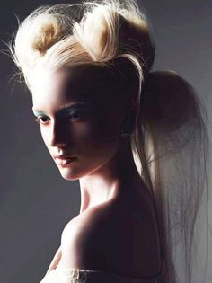 Asian Inspired Hairstyles Couture //  #Asian #Couture #Hairstyles #inspired