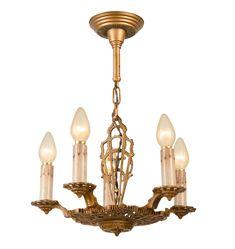 decorevival 5candle chandelier