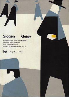 Geigy – Siogen, c.1958, designer unknown.