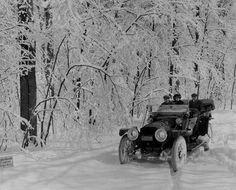 Old car - Winter