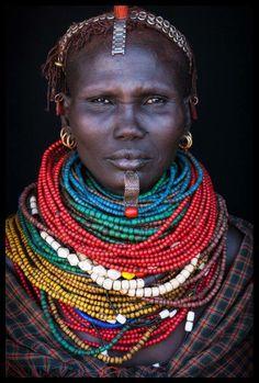 Nyangatom woman, Ethiopia, by John Kenny