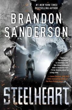 Steelheart, by Brandon Sanderson and published in is the first book in the Reckoners, a young adult fantasy/science fiction series. Ya Books, Good Books, Books To Read, The Book, Book 1, Book Quotes Love, The Reckoners, Brandon Sanderson, Literatura