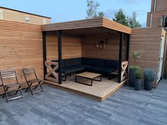 When ancient around principle, the pergola has been experiencing a contemporary rebirth all these days. Backyard Patio Designs, Diy Patio, Backyard Landscaping, Modern Gazebo, Outdoor Rooms, Outdoor Decor, Back Garden Design, Backyard Makeover, Exterior Design