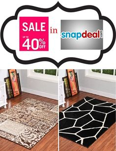 Our #CarpetDesigns in #snapdeal with attractive offers.  Buy our #carpets, #ShaggyCarpets, #Rugs and #DoorMats in snapdeal by following the #image. Decor, Carpet, Bath Mat, Stuff To Buy, Bath, Home Decor, Rugs, Door Mat