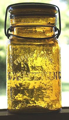 antique pint jar