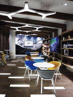 Lounge Descontraído de Escritório