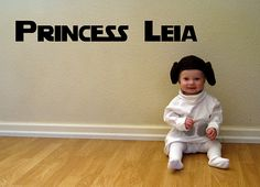 Oh... our first girl is totally already Princess Leia...