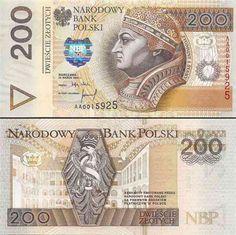 Banknoty polskie - Ilustrowany zbiór polskich banknotów Money Notes, Rich Money, Money Bank, Visa Card, European History, Bank Deposit, Postage Stamps, Old Things, World