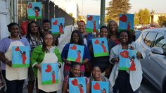 #PaintParty with #DionneNicoleArts  Www.facebook.com/DionneNicoleArts