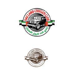 UAE Land Cruiser Auto Club Logo by mounaim42