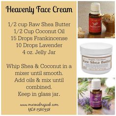 Heavenly Face Cream made with Young Living Essential Oils www.marniekrajicek.com #1580358
