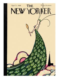 The New Yorker Cover - April 3, 1926 Poster Print by Rea Irvin at the Condé Nast Collection