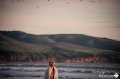 Capturing the drama and beauty of a beach wedding on The Fleurieu Peninsula - Stunning photo by @debsaundersphotography. . I was privileged to be part of a collaborative bridal fashion shoot organised by @she.sews. What an amazing day. . Check out the URL link in my profile to watch some of my videos I shot on the day. . Thanks to my amazing collaborators: Model @steph.walkerr  Wedding Dress & Styling @she.sews Hair and Makeup @beyondbeautifulstylelounge Flowers @mclarenvaleflorist Furniture…