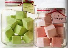 Martha Stewart's Bath Fizzies - Going to make these as Christmas gifts this year!