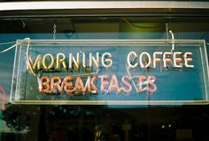 neon sign. when will i find these place in Bangkok? i need breakfast diner!!