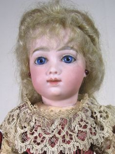 RARE A.T. Thuillier Antique French Bisque Head Doll ~ a Beauty! from victoriasdollhouse on Ruby Lane