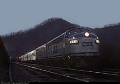 RailPictures.Net Photo: CSXT 116 CSX Transportation (CSXT) EMD F7(A) at Shelbiana, Kentucky by Ron Flanary