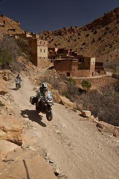 Tiger Explorer Morocco Bikes.
