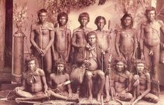 1875 - Indios Botocudos por Marc Ferrez