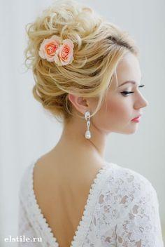 loose high updo wedding hairstyles