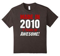 unisex-child Boys Birthday Shirt 7 Years Of Awesome 4 Asp... https://www.amazon.com/dp/B073NR2VSN/ref=cm_sw_r_pi_dp_x_uovwzbXRVCC00